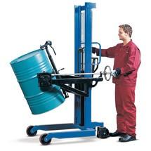 Vatenlifter. Vatenkantelaar 180°. Capaciteit 350 kg. Hefhoogte 1300 mm