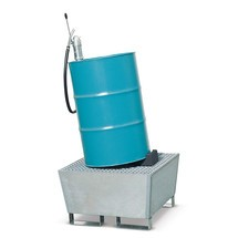 Vatenroller van polyethyleen