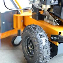 Veegmachine Basic Sweeper 60. Veegbreedte 600 mm