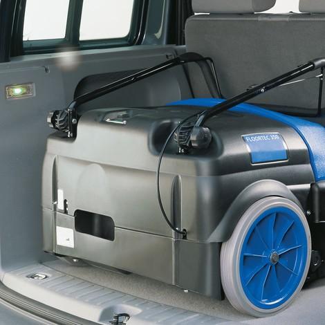 Veegmachine Nilfisk Alto® Floortec 350. Accumodel, veegbreedte 72 cm