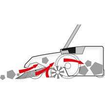 Veegmachine Steinbock® Turbo-Premium Accu, elektrisch