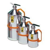 Veiligheidskan van roestvrij staal met doseerder, 1 - 5 liter