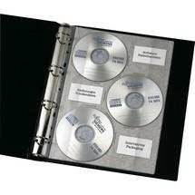VELOFLEX CD DVD-Prospekthüllen A4
