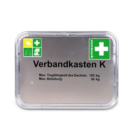 Verbandkasten SÖHNGEN® Feuerwehr, K Typ 4, Aluminium