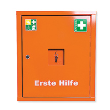 Verbandschrank SÖHNGEN ® Eurosafe, mit Füllung.