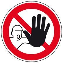 Verbodsbord Toegang voor onbevoegden verboden