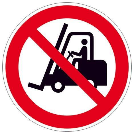 Verbotsschild – Für Flurförderzeuge verboten