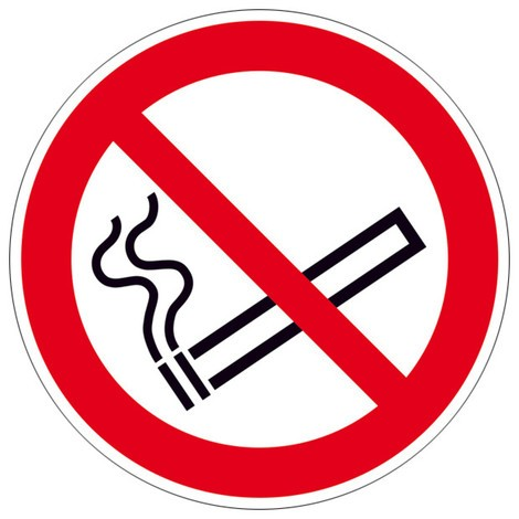 Verbotsschild – Rauchen verboten