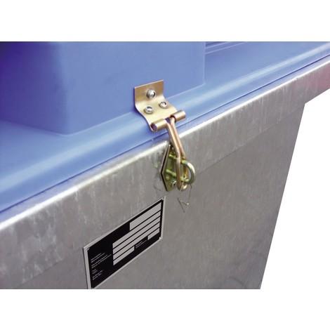 Vergrendeling voor de opvangtank voor afvalolie ASO-D 800