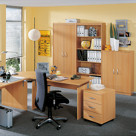 Verkettungsplatte für Büroserie Advantage