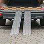 Verladeschienen BASIC aus Aluminium im 2er-Set. Tragkraft wahlweise 150 kg oder 400 kg