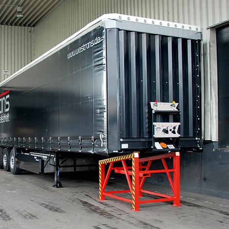 Verladestütze für LKW. Tragkraft 25.000 kg