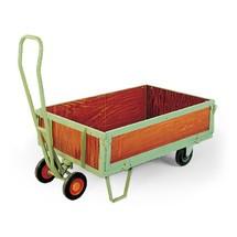 Verrijdbare laadborden met zijwanden. Capaciteit 500 of 800 kg