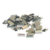 Verschlusshülsen für Kunststoffband. Breite 13mm + 16mm