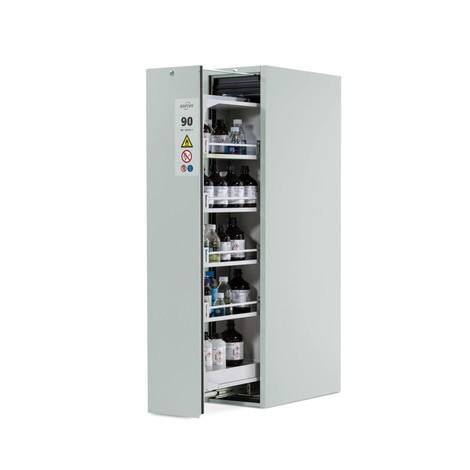 Top Verticaal uitschuifbare kast asecos® V-MOVE-90 | Jungheinrich MQ02