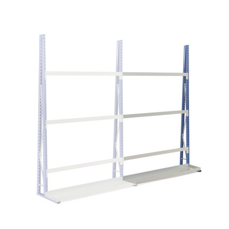 Vertical rack, single-sided, add-on unit