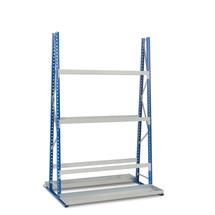 Vertikal reol, dobbeltsidet, grundsektion