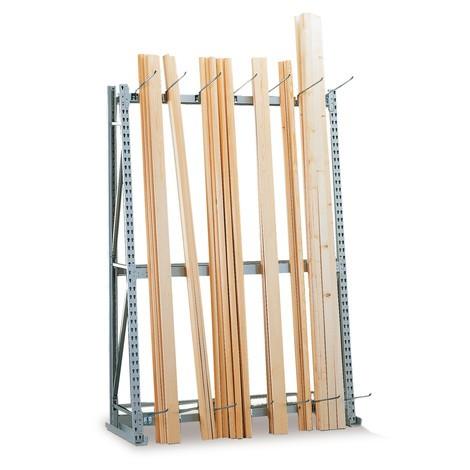 Vertikal reol META, enkeltsidet, grundsektion