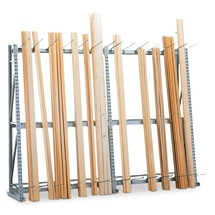 Vertikalhylla META, ensidig, påbyggnadssektion
