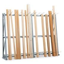 Vertikální regál META, jednostranný, přídavné pole