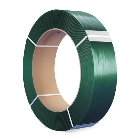 Viazacia páska PET, vafľový povrch, Ø jadra 406mm