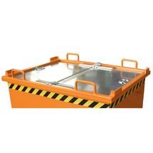 Víko pro skládací spodní kontejner