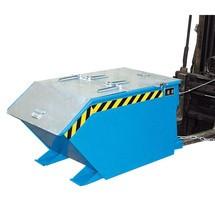 Víko pro vyklápěcí kontejner, nízká konstrukční výška