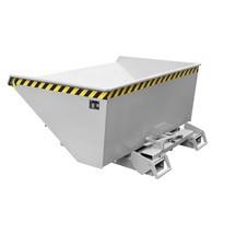 Vippecontainer med automatisk afrulningsmekanik, galvaniseret