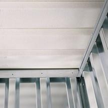 Vliesbeschichtung für Materialcontainer