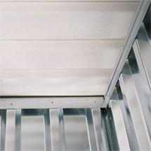 Vliesbeschichtung für Materialcontainer 2 - 3 Module