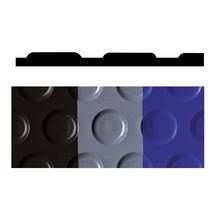 Vloerbedekking met noppen van vinyl