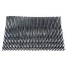Vloermat voor grofvuil van polyethyleen