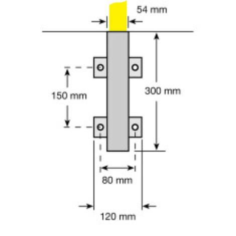 Vložka objímky pre ochrannú tyč, bočné upevnenie na odstránenie