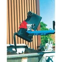 Volcador de bidones, capacidad de carga de 300 kg
