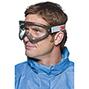 Vollsichtbrille 3M 2890 mit klare Gläsern