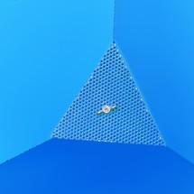 Volquete de virutas, posibilidad de descarga a ras de suelo, pintado, volumen 0,4 m³, con huecos para horquillas