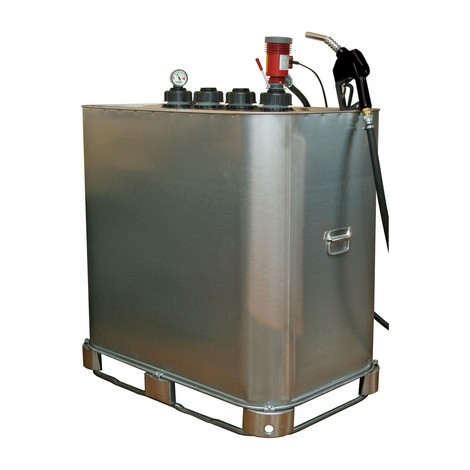 Voorste benzinestation Dieselmatic® plus 35 met automatisch kraanpistool AP 60