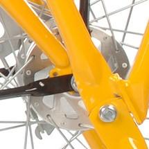 Vorderrad-Trommelbremse für Betriebs- und Transportfahrrad Ameise®