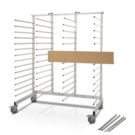 vozík opěrného ramene