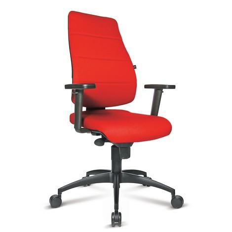 Vridbar kontorsstol Topstar® Synchro med vadderat ryggstöd