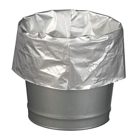 Vuilniszakken voor veiligheidsbakken, gealuminiseerd