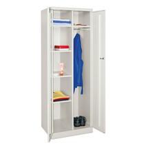 Wäsche- und Garderobenschrank PAVOY, HxBxT 1.800 x 600 x 500 mm