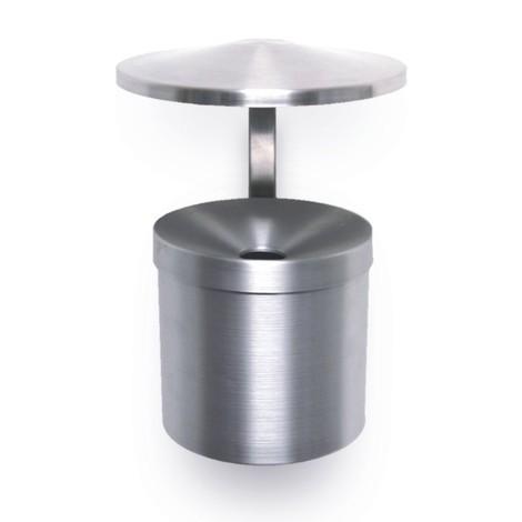 Wandascher aus Aluminium