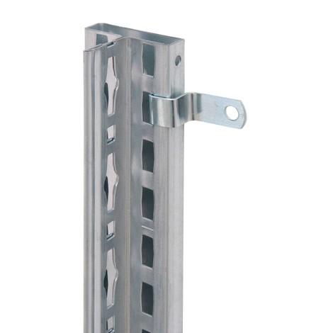 Wandbefestigung für Akten-/Fachbodenregale SCHULTE mit Stecksystem
