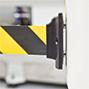 Wandclip für Gurt-Absperrpfosten GUIDELINE, Kunststoff magn.