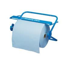 Wandhouder/tafeldispenser voor Kimberly Clark ® grote rollen, blauw