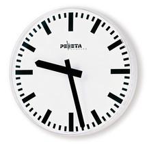 Wanduhr Peweta®, Balken-Ziffernblatt