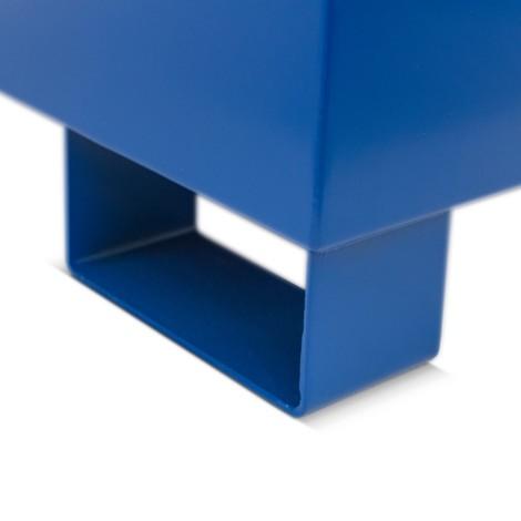 Wanna ociekowa Steinbock® ze stali do KTC/IBC, zmożliwością podejmowania widłami od dołu