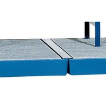 Wannenverbinder für Flach-Auffangwanne asecos® aus PE