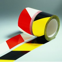 Warning marking tape, non-reflective